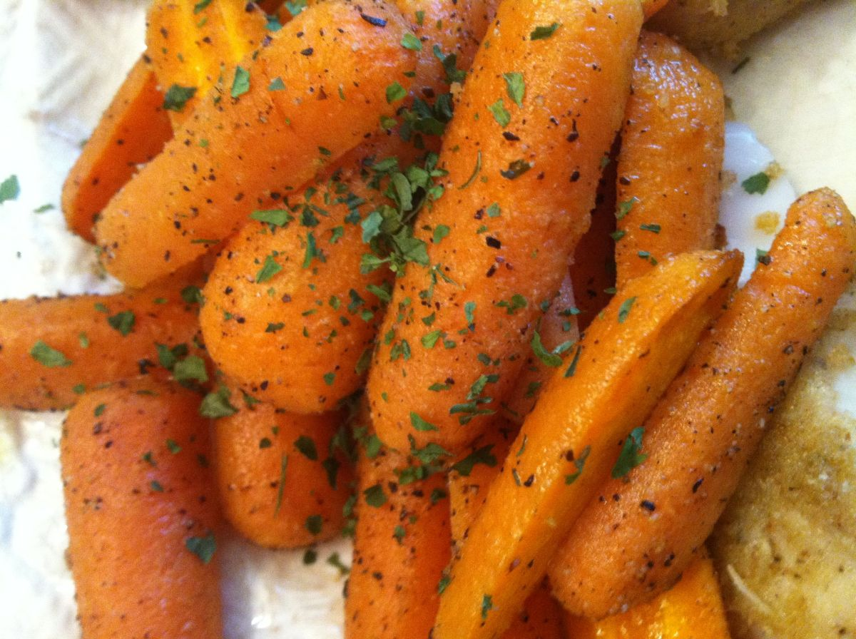 Crispy Roasted Carrots