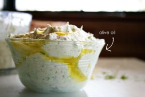 7lemon ricotta oil