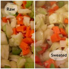 raw vs sweated