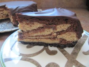 Maggie Monday: Chocolate Peanut Butter Cheesecake with Chocolate Glaze ...