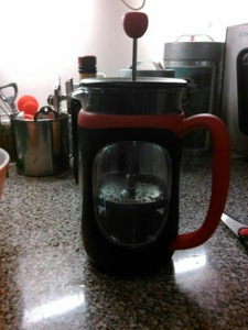 french press