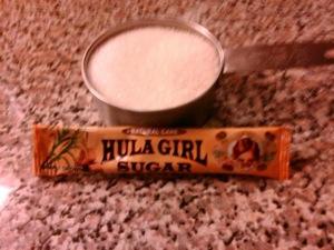 hula girl sugar
