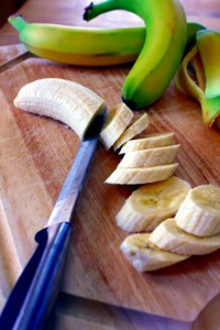 Slicing Bananas