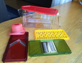 how to clean box grater
