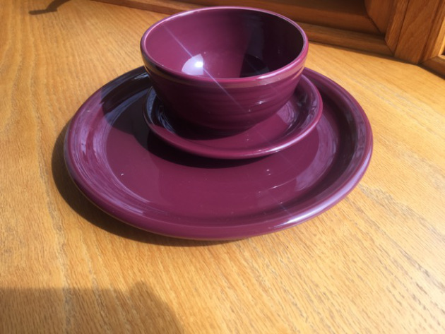 Product Review Fiesta Dinnerware New Color \u2013 Claret! | Rantings of an Amateur Chef : fiesta dinnerware - pezcame.com